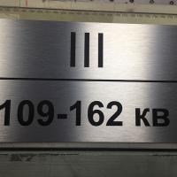 Настенная навигационная табличка (алюминий)